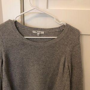 Madewell warm grey sweater!